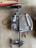 Minn Kota Trolling motor, battery, Boat seat