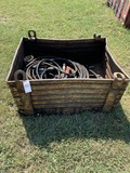 Metal Box with hoses, & Welding cable