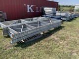 Pallet Racking 134 wire Pallet Decking 35 mixed beams & 10 16 ft. uprights
