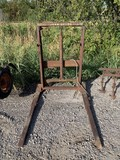 John Deer Hydraulic Front Attachment with Pallet forks