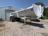2007 Manac TS TD-32 Ft  End Dump Trailer white