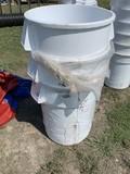 3- 40 Gallon Trash Cans