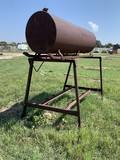 Fuel Tank On Stand W/ Skid