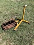Gm Block & Engine Stand