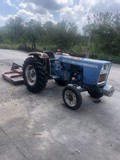 Ford 1900 Diesel Tractor with 6ft. Mower runs