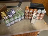 Bundle of Poker chips & cards