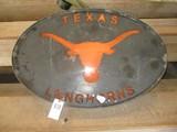 Texas Longhorn Lighted Sign