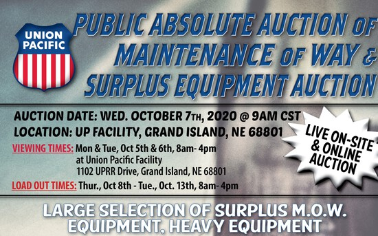 Large Public Auction Surplus MOW & Heavy Equipment