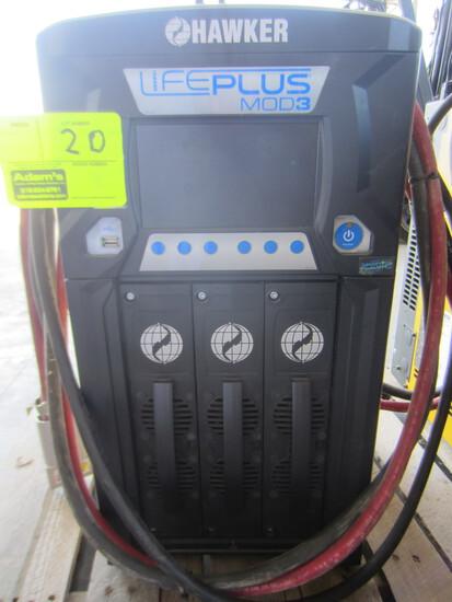 HAWKER LIFEPLUS MOD 3 BATTERY CHARGER LPM3-48C-1804 Serial #-QL327999