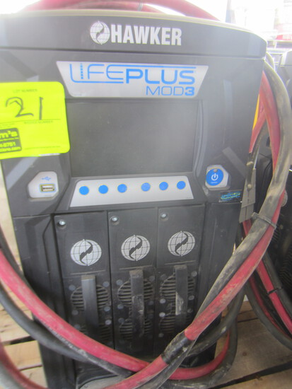 HAWKER LIFEPLUS MOD 3 BATTERY CHARGER LPM3-48C-1804   Serial #-PH315864