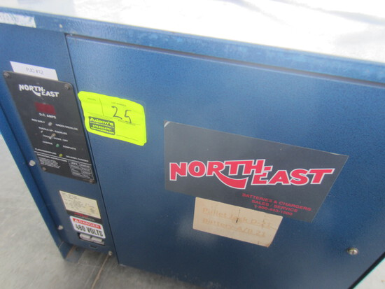 NORTH EAST BATTERY CHARGERS 3NE12-750  Serial #1680418