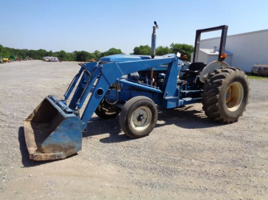 Ford 6610 with Loader SN BC89550