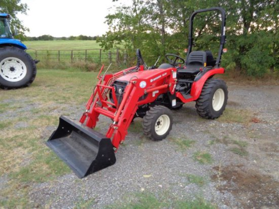 Branson 2400h with loader SN CEGD00190