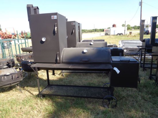 """BBQ 20"""" with Firebox and Smoker"""