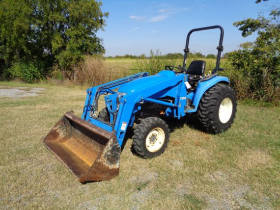 New Holland TC33D with loader SN G037218