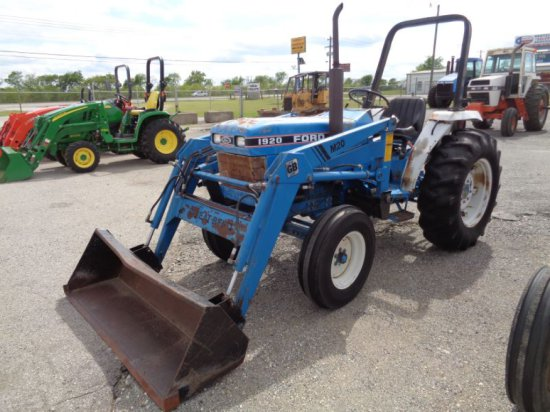Ford 1920 with loader SN UP21588