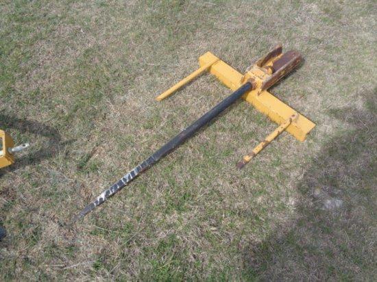 Hay Spear For Loader Bucket