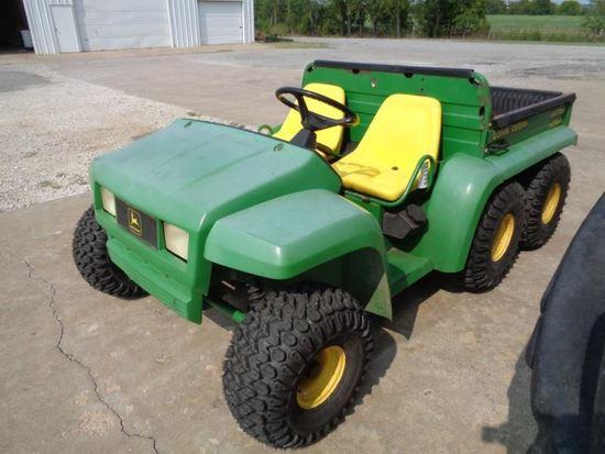 John Deere 6x4 Gator SN W006X4X0060