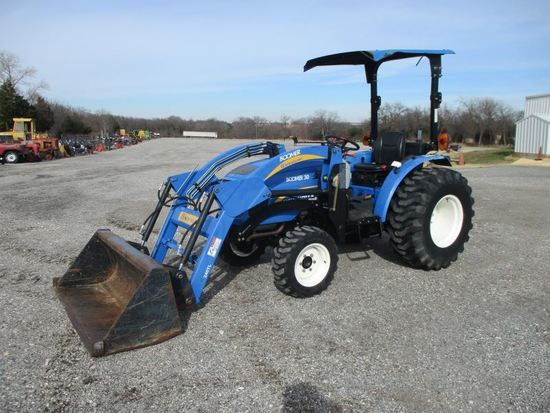 New Holland Boomer 30 with loader SN 2107012145