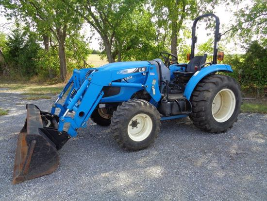 LS XR4046 with loader SN 2229010634