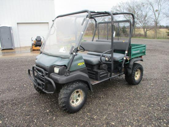 Kawasaki 3010 Mule SN JK1AFCJ117B510992