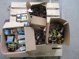 Pallet of PTO Driveline parts