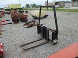 Bush Hog FL201 SN 3-00811 Pallet Forks