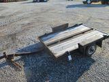 Bumper Pull Tilt Deck Trailer--NO TITLE