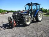 New Holland TL100 with loader SN 001317832