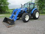 New Holland T4.100 with Loader SN ZFLE50738