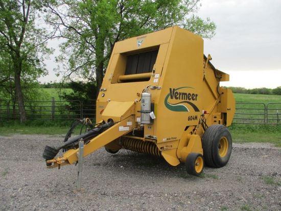 Vermeer 604M Sn 1VRV1610791000881 | Farm Machinery