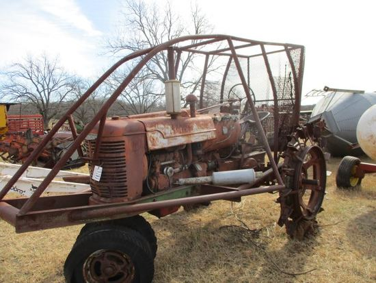 M Farmall with Steel Wheels