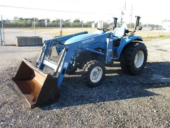 New Holland TC29D with Loader SN G024769