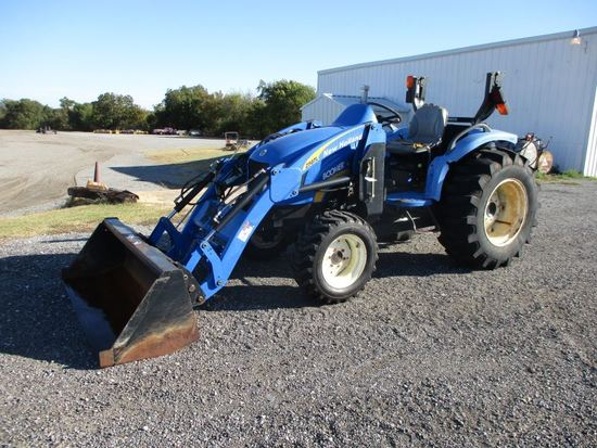 New Holland Boomer 3050 with loader SN Z8DB02274