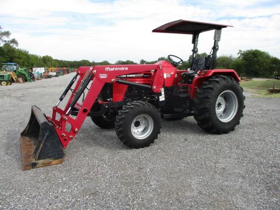 Mahindra 4540 with Loader SN MRCNY4178