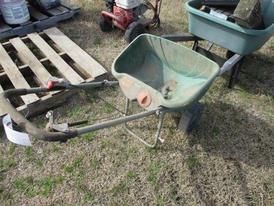 Sump Pump, Wheelbarrow, Spreader
