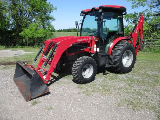 Mahindra 3540P with Loader & Backhoe SN CFDHC1004