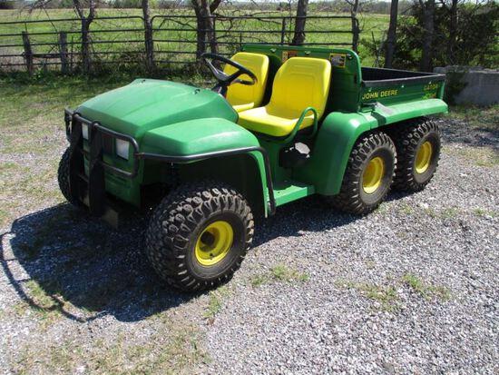 John Deere 6x4 Gator SN W006X4X062167
