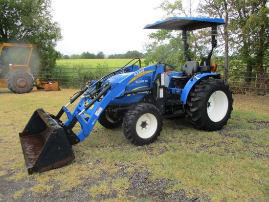 New Holland Boomer 50 With Loader SN 2105012874