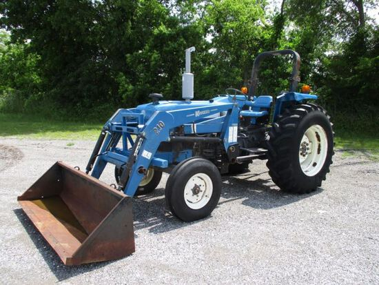 New Holland 4630 with Loader SN 117903B