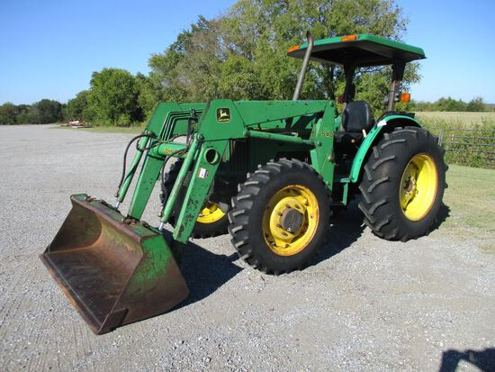 Johon Deere 5400 with Loader SN LV5400E440942