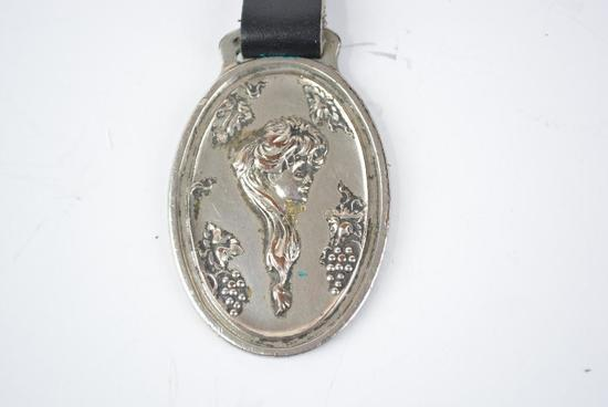 Rider-Lewis Motor Car Company Metal Watch Fob