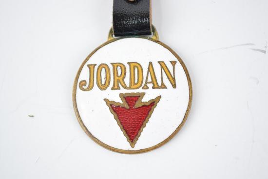 Jordan Automobile Enamel Metal Watch Fob