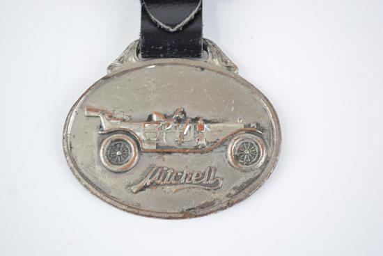 Mitchell Automobile Metal Watch Fob