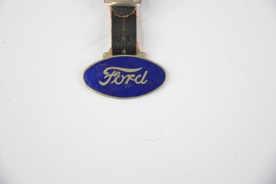 Ford Enamel Metal Watch Fob