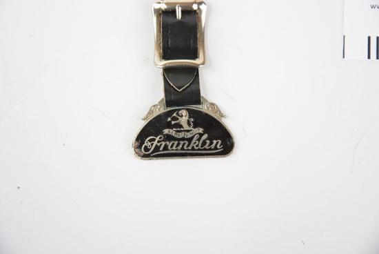 Franklin Automobile Enamel Metal Watch Fob