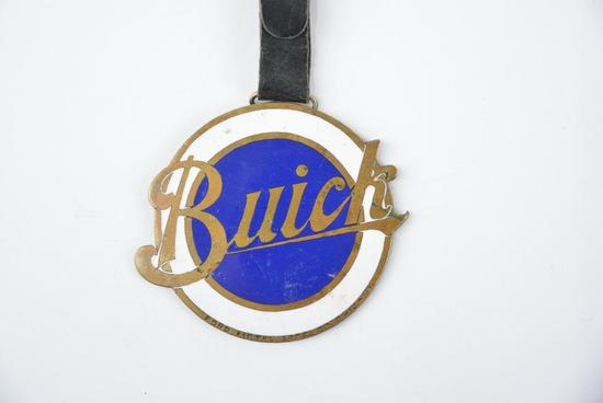 Buick Enamel Metal Watch Fob