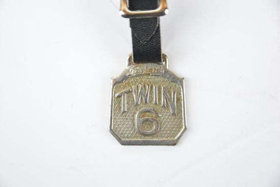 Packard Automobile Metal Watch Fob