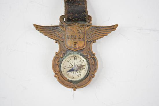 Dodge Brothers Automobile Metal Watch Fob