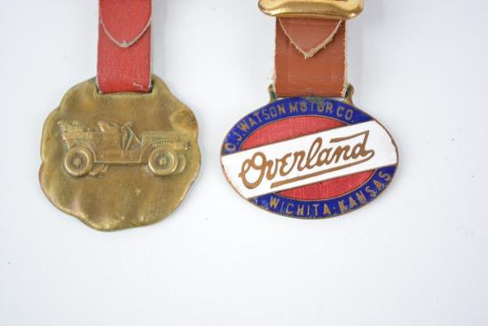 2- Overland Automobile Watch Fobs